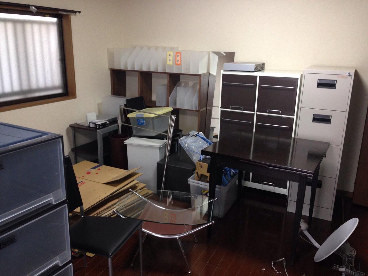 宮城県仙台市青葉区にお住まいのH.M様の不用品回収前のお部屋の画像