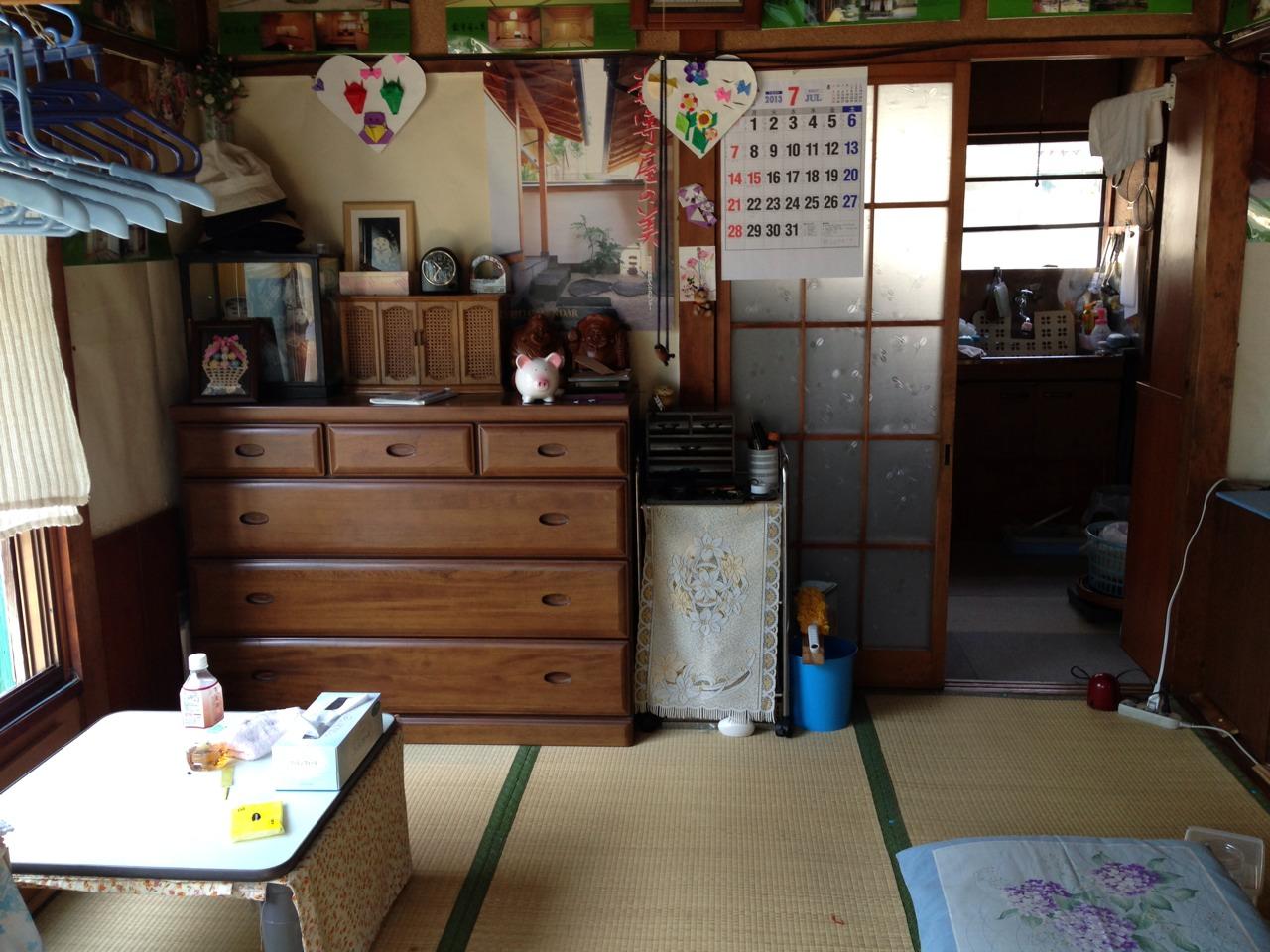 宮城県仙台市青葉区にお住まいのI.K様の不用品回収前のお部屋の画像